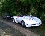 corvette clasico en renta para eventos activaciones
