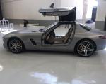 renta de Mercedes sls AMG gris
