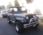 renta de jeep wrangler clasico gris plata