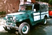 jeep willis militar en renta para eventos activaciones publicidad filmaciones