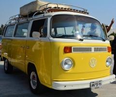 Combi Amarilla Clásica 70s