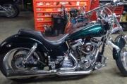 motocicleta chopper en renta