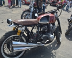 motocicleta clasica triumph