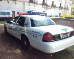 patrulla policia americana en renta
