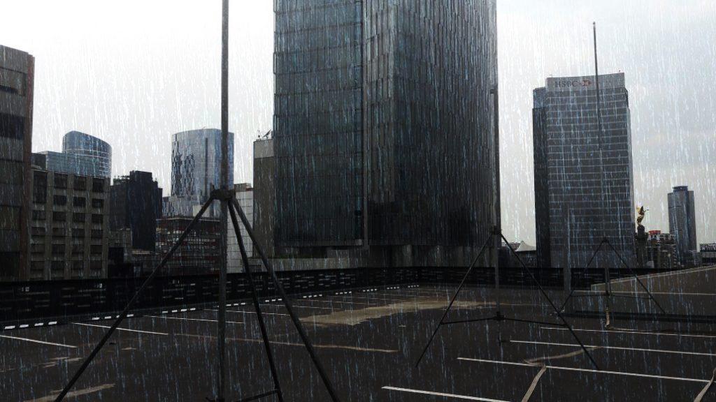 Efecto de lluvia artificial - Rain special effect
