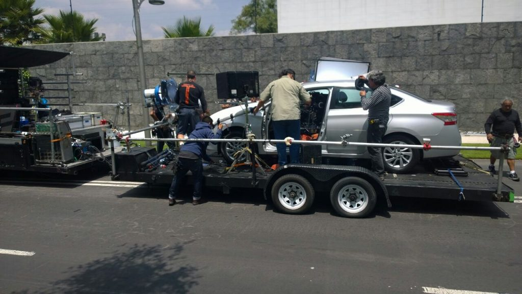 camera car in mexico for films