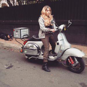 Renta de Motocicletas Vespa para filmaciones y publicidad
