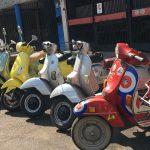 Renta de Motocicletas Vespa en México